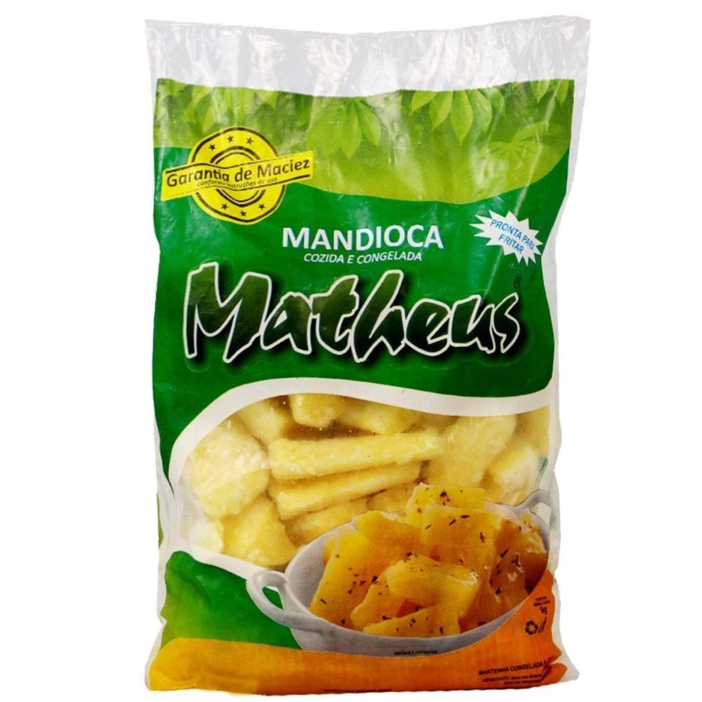 Mandioca Tolete Congelada 500g Matheus pacote PCT