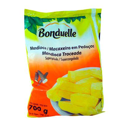 Mandioca tolete congelada 700g Bonduelle pacote UN