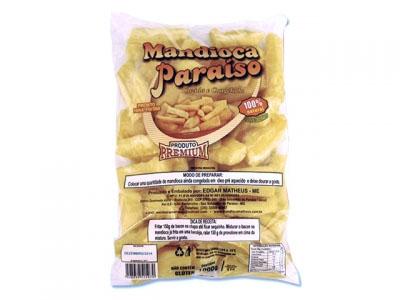 Mandioca tolete congelada por Kg Paraíso Premium pacote KG