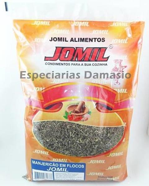 Manjericão desidratado 400g Jomil pacote PCT