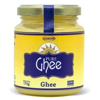 Manteiga orgânica sem sal 175g Ghee vidro VD