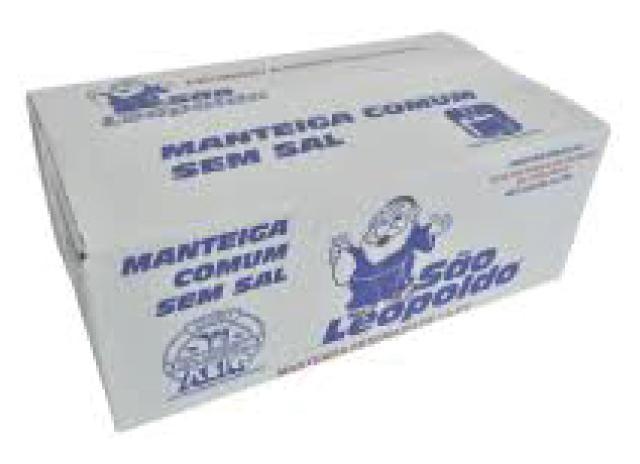 Manteiga sem sal por Kg São Leopoldo peça KG
