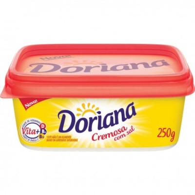 Margarina com Sal 80% Lipídeos 250g Doriana pote UN