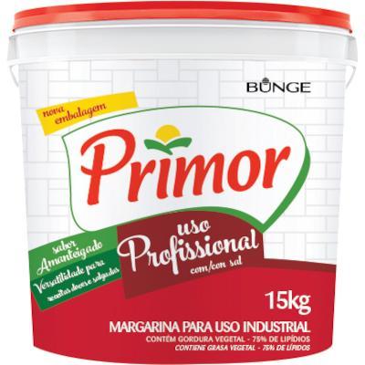 Margarina com Sal 15kg Primor balde BD