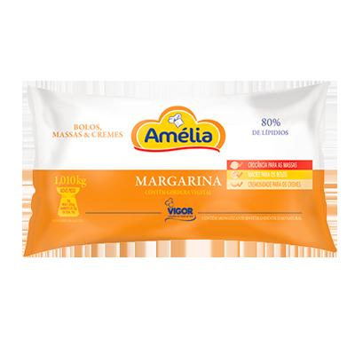 Margarina para massas e cremes (bag de 1kg) Amélia por Kg KG