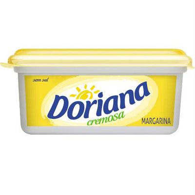 Margarina sem sal 250g Doriana pote UN