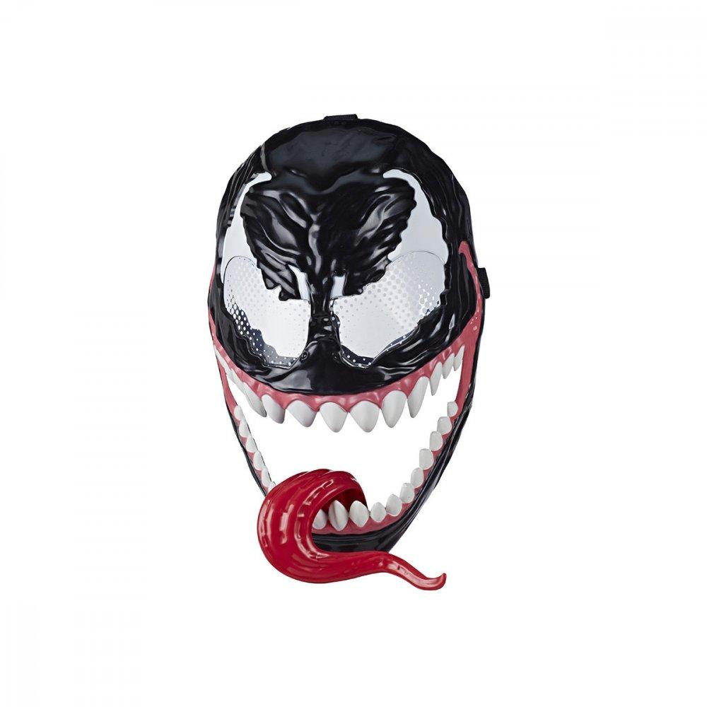 Máscara Venom Marvel Homem Aranha Maximum Preta unidade Hasbro  UN