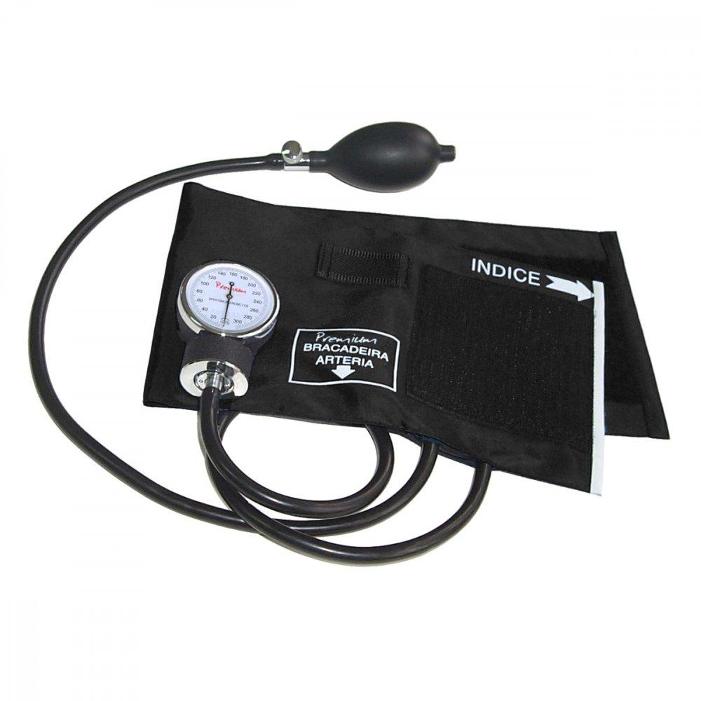 Medidor de Pressão de Braço Mecânico Aneroide ESFH20PR Preto unidade Premium  UN