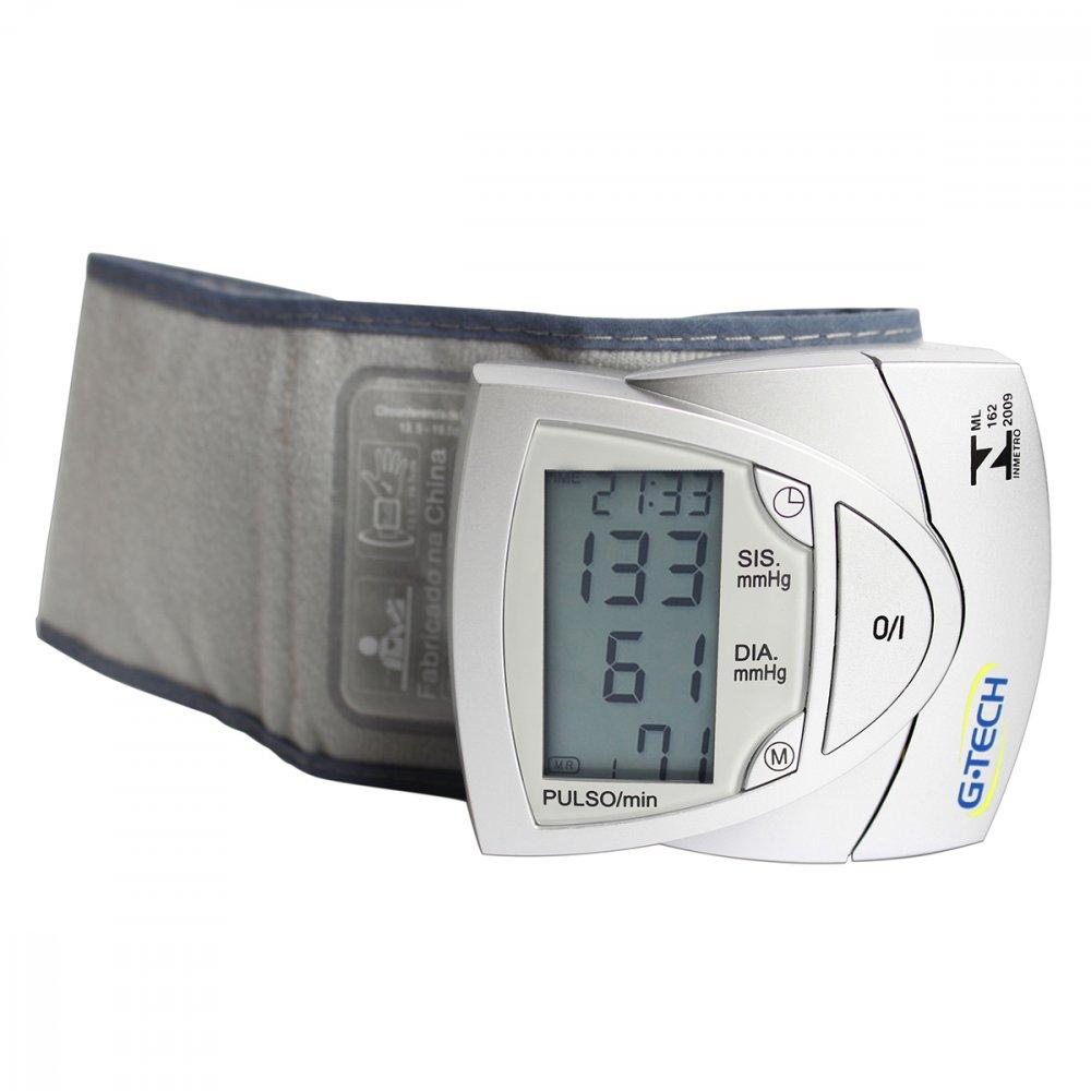 Medidor de Pressão de Pulso Automático BP3AF1 Cinza unidade G-Tech  UN