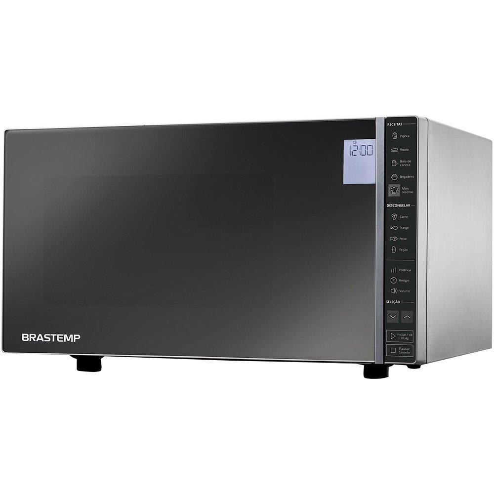 Micro-ondas BMS45CR 32 Litros Inox 220v unidade Brastemp  UN