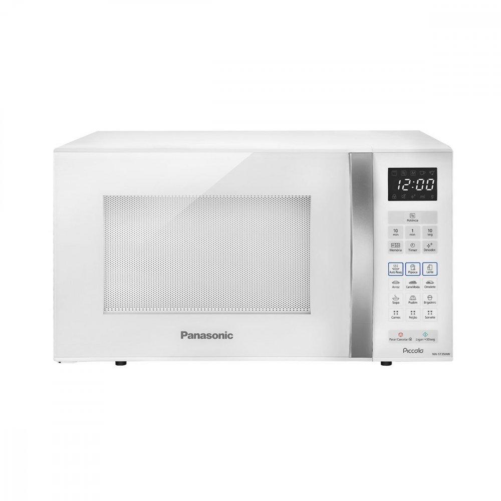 Micro-ondas Piccolo NN-ST35HWRUN 25 Litros Branco 220v unidade Panasonic  UN