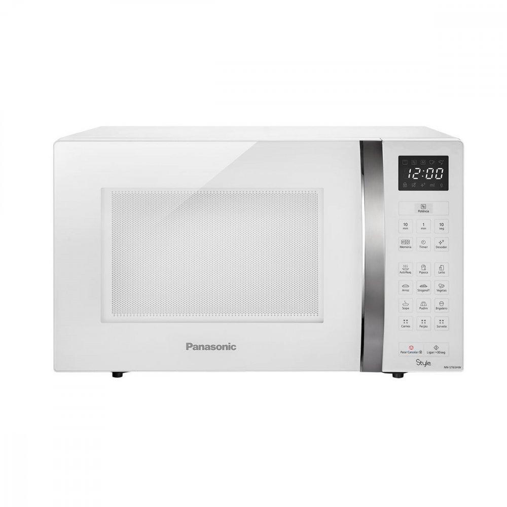 Micro-ondas Style NN-ST65HWRUN 32 Litros Branco 220v unidade Panasonic  UN