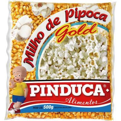 Milho de Pipoca  500g Pinduca pacote PCT