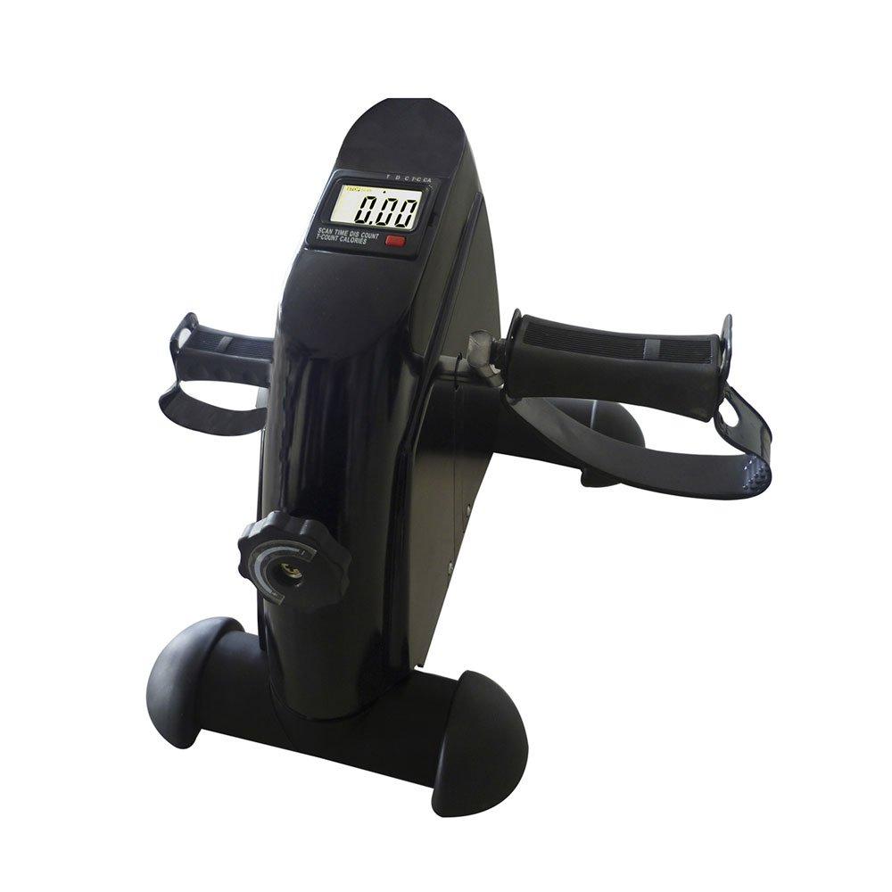 Mini Bicicleta Ergométrica Mecânica Horizontal E5 Preta unidade Acte  UN