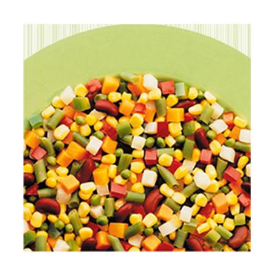 Mistura Caribenha de legumes congelado 1kg Daucy pacote UN