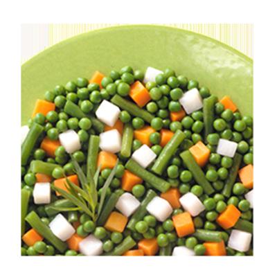 Mistura Jardineira de legumes congelado (pacote de 1 a 2,5kg) Daucy por Kg KG