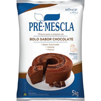 Mistura para Bolo de Chocolate 5kg Bunge/Pré-Mescla pacote PCT