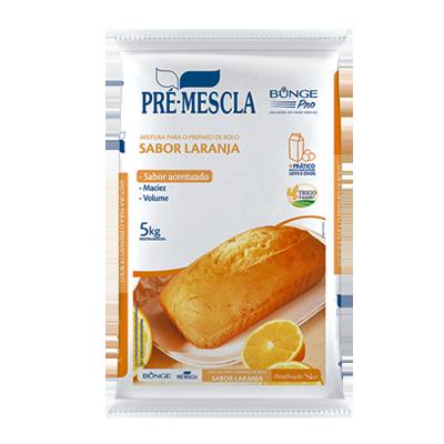 Mistura para Bolo de Laranja 5kg Bunge/Pré-Mescla pacote PCT