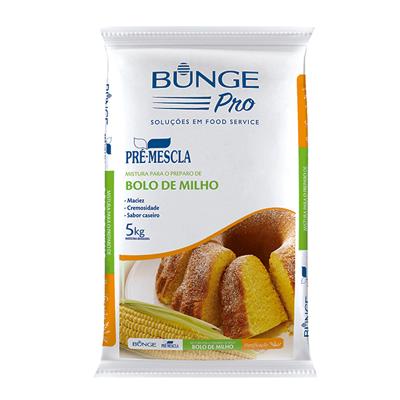 Mistura para Bolo de Milho 5kg Bunge/Pré-Mescla pacote PCT