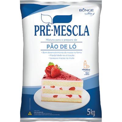 Mistura para Bolo de Pão de Ló 5kg Bunge/Pré-Mescla pacote PCT