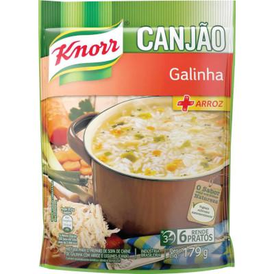 Mistura para Sopa de Canjão + Arroz 179g Knorr Sopão pacote PCT