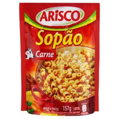 Mistura para Sopa sabor Carne 157g Arisco Sopão pacote PCT