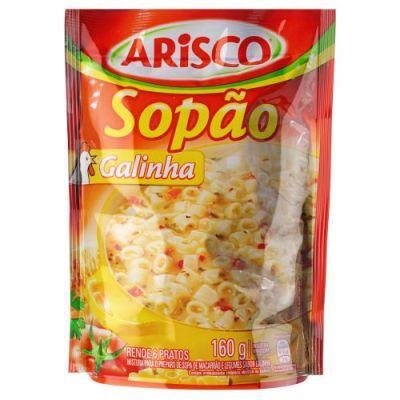 Mistura para Sopa sabor Galinha 160g Arisco Sopão pacote PCT
