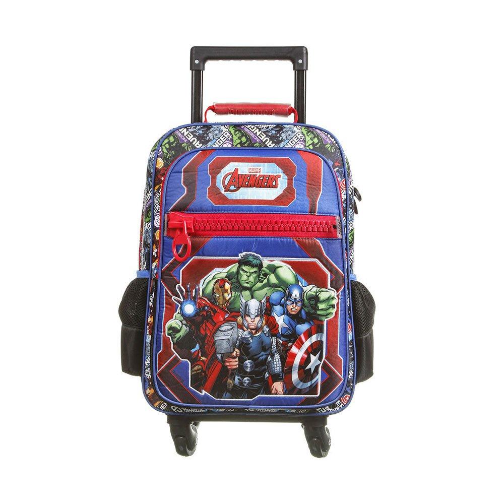 Mochila Escolar Infantil Avengers Animated Polinylon Colorida unidade Marvel  UN