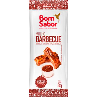 Molho barbecue  unidades de 7/8g Bom Sabor em sachês UN