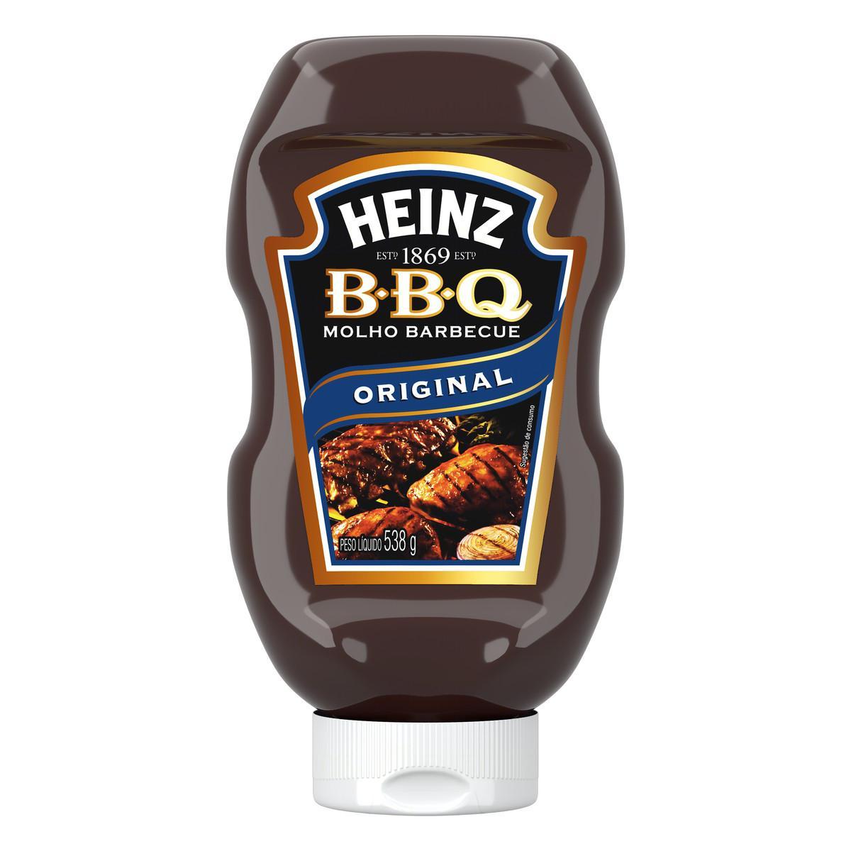 Molho Barbecue  538g Heinz pet UN