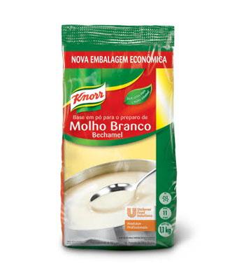 Molho branco  1,1kg Knorr bag UN