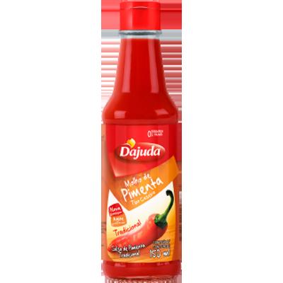 Molho de pimenta vermelha 150ml D'ajuda  UN