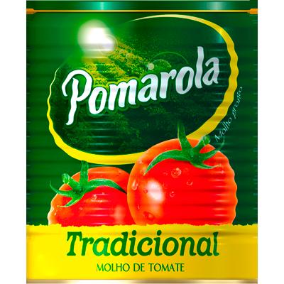 Molho de tomate  340g Pomarola lata UN