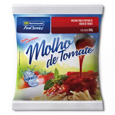 Molho de tomate  500g Nutrimental pacote UN