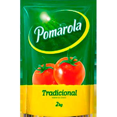 Molho de tomate  2kg Pomarola sachê UN