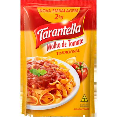 Molho de Tomate Tradicional 2kg Tarantella sachê UN