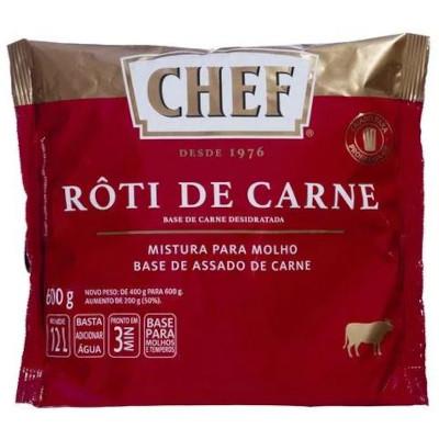 Molho escuro róti de carne 600g Nestle Chef pacote PCT