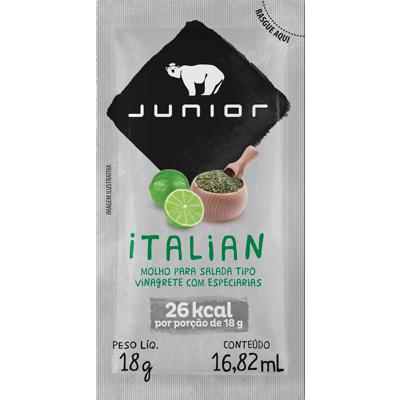 Molho para Salada Italiano 180 unidades de 18ml Junior caixa CX