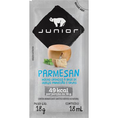Molho salada parmesão unidades de 18g Junior em sachês UN