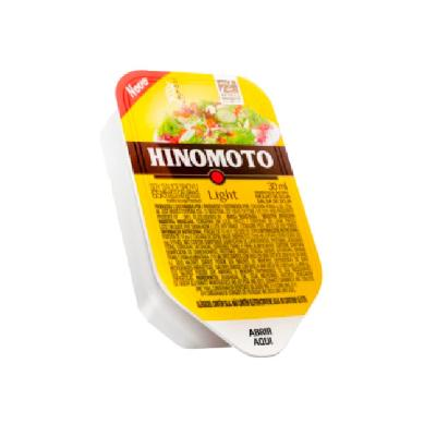 Molho Shoyu Light 60 unidades de 30ml Hinomoto caixa CX