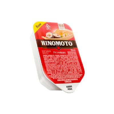 Molho Shoyu Premium 60 unidades de 30ml Hinomoto caixa CX