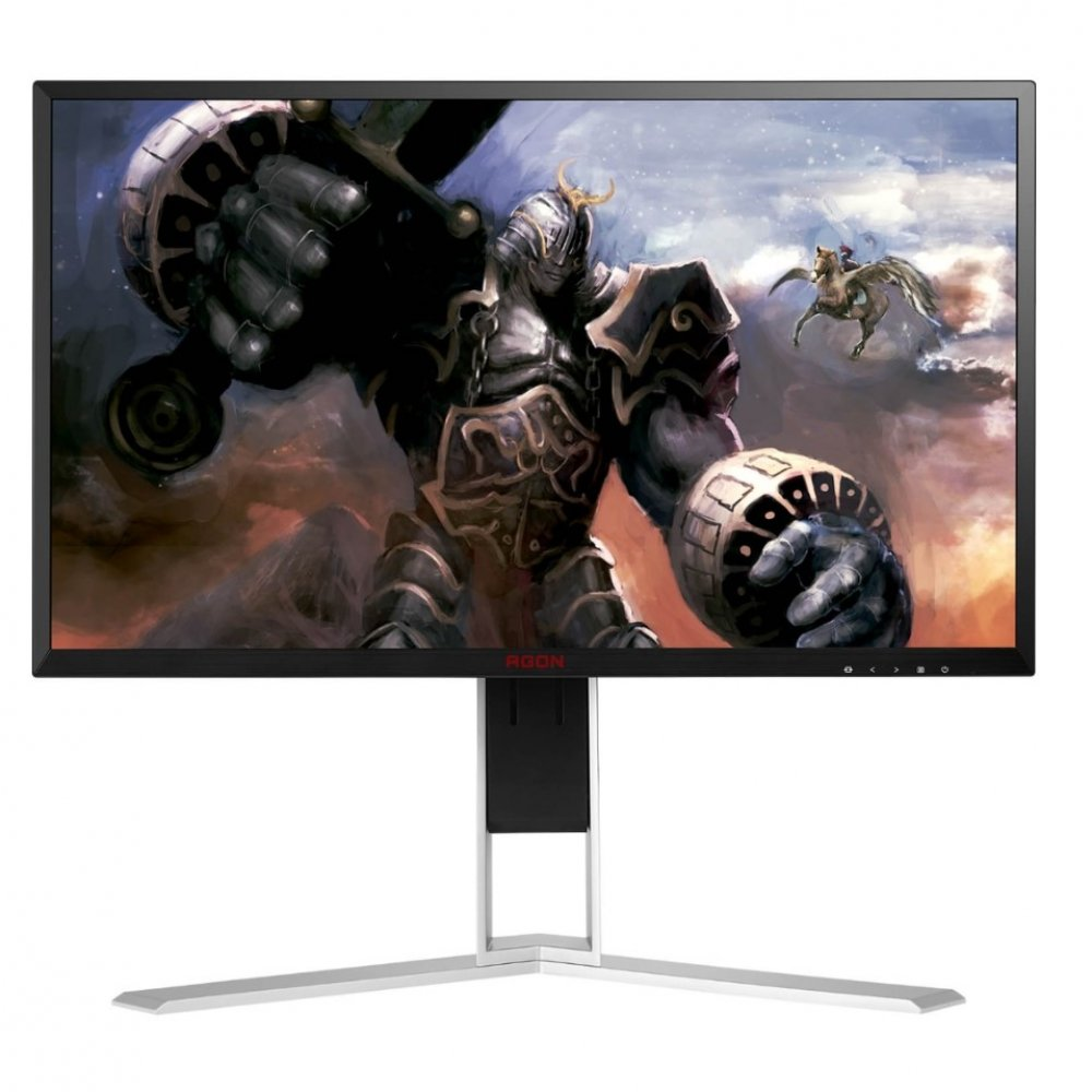 "Monitor Gamer 24.5"" LED Full HD AG251FZ2 Vermelho e Preto Bivolt unidade AOC  UN"