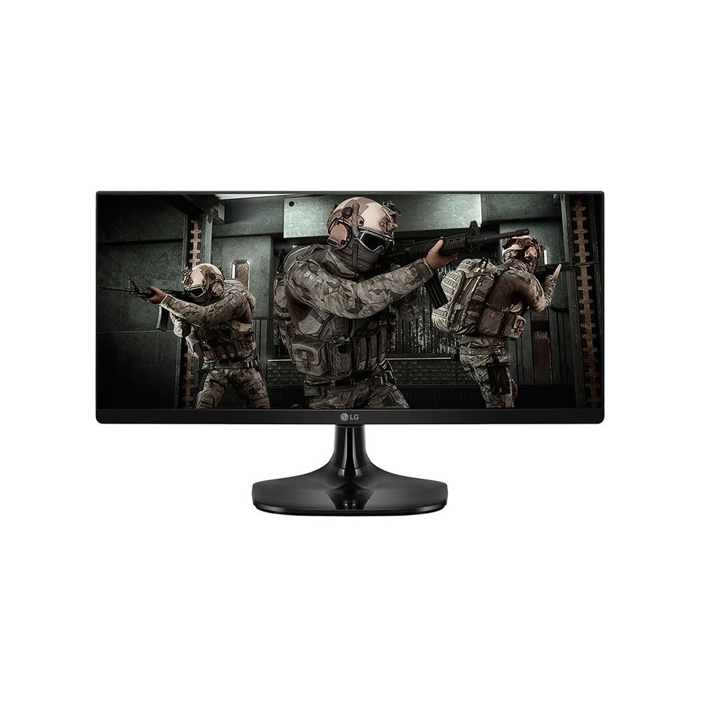 "Monitor Gamer 25"" LED Full HD Ultrawide 1ms 25UM58G Preto Bivolt unidade LG  UN"