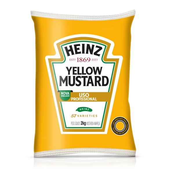 Mostarda  2kg Heinz bag UN