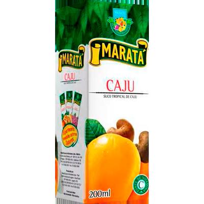 Néctar de Fruta sabor cajú 200ml Maratá Tetra Pak UN
