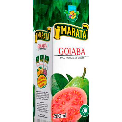 Néctar de Fruta sabor goiaba 200ml Maratá Tetra Pak UN