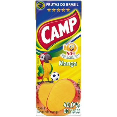 Néctar de Fruta sabor manga 200ml Camp Tetra Pak UN