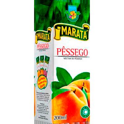 Néctar de Fruta sabor pêssego 200ml Maratá Tetra Pak UN