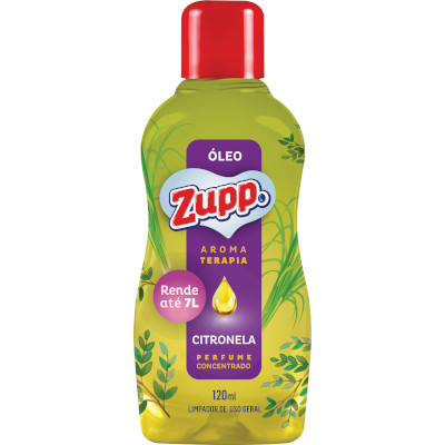 Óleo aroma Citronela 120ml Zupp frasco FR