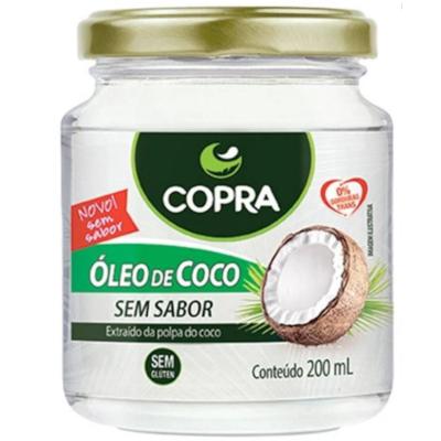 Óleo de coco sem sabor 200ml Copra  UN